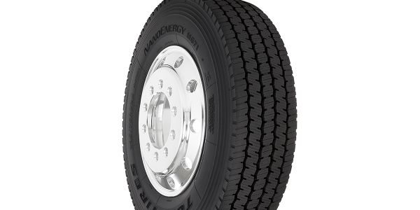 The new NanoEnergy M671 super regional drive tire is available now in three sizes: 295/75R22.5...