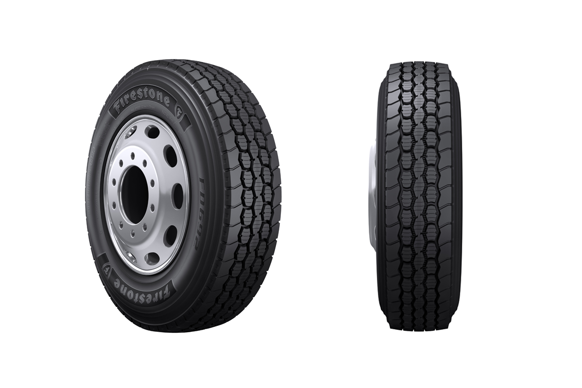 Bridgestone's New Fuel-Efficient Drive Tire