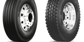 Double Coin's New Sizes for Drive-Position, Highway Service Tires