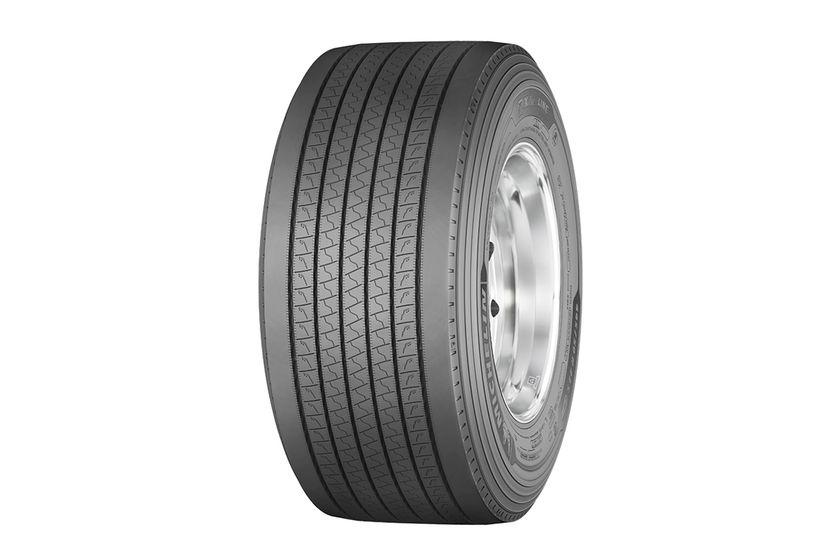 Michelin Launches Fuel-Efficient Trailer Tire