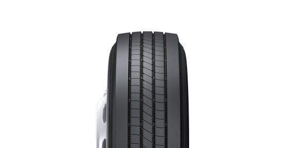 This trailer retread is designed to complement the Bridgestone R123 Ecopia tire.