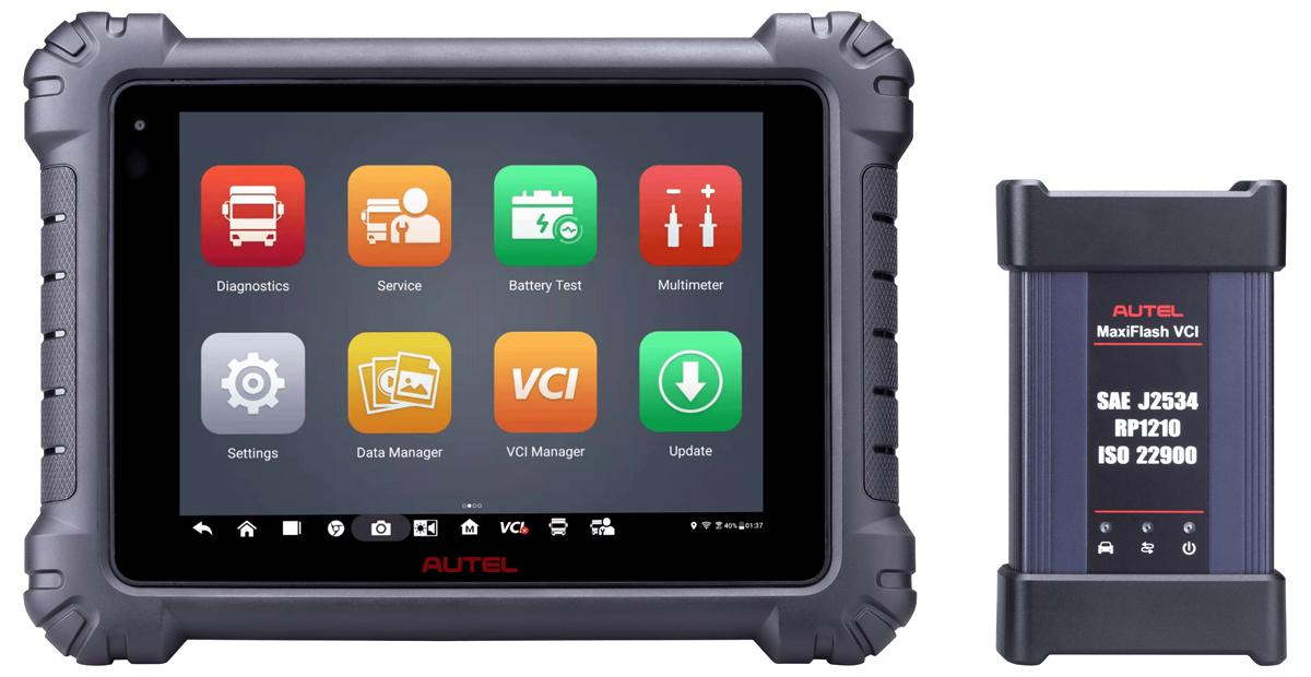 Autel Adds Commercial Vehicle Diagnostics Tablet