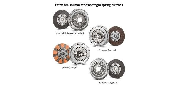 Eaton has introduced new additions to its 430-millimeter diaphragm spring clutch portfolio for...