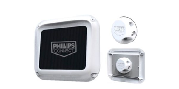 Phillips Connect's CargoVision camera monitors and can report whether a load is safe or unsafe...