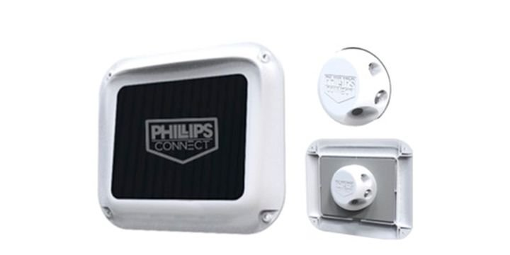 Phillips Connect's CargoVision camera monitors and can report whether a load is safe or unsafe before the doors are open for unloading. - Photo: Phillips Connect