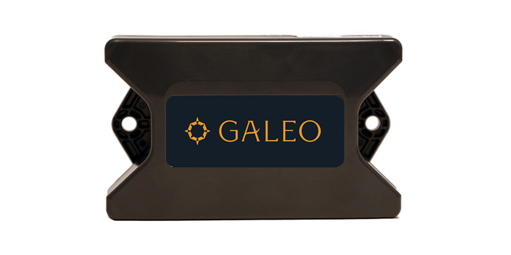 Galeo Pro can be configured to send an alert when it senses motion, and depending on how it's mounted, it can detect when a trailer door is opened. - Photo:The Galeo Group
