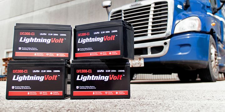 Roadwarrior'sLightningVolt battery upgrade is designed to power essential long-haul accessories like air conditioners, fridges, microwaves and electronics. - Photo: Roadwarrior
