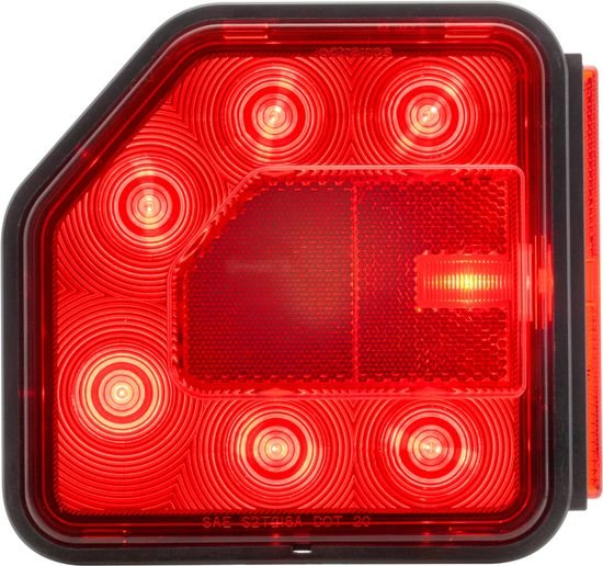The STL02/03 LED taillight's modular design hasbeen engineered so that it can be configured into novel lighting assemblies. - Photo: Optronics International
