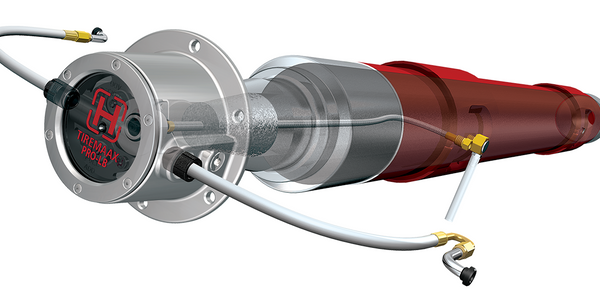 Hendrickson's next-generation tire pressure control system, Tiremaax Pro-LB inflates, relieves...