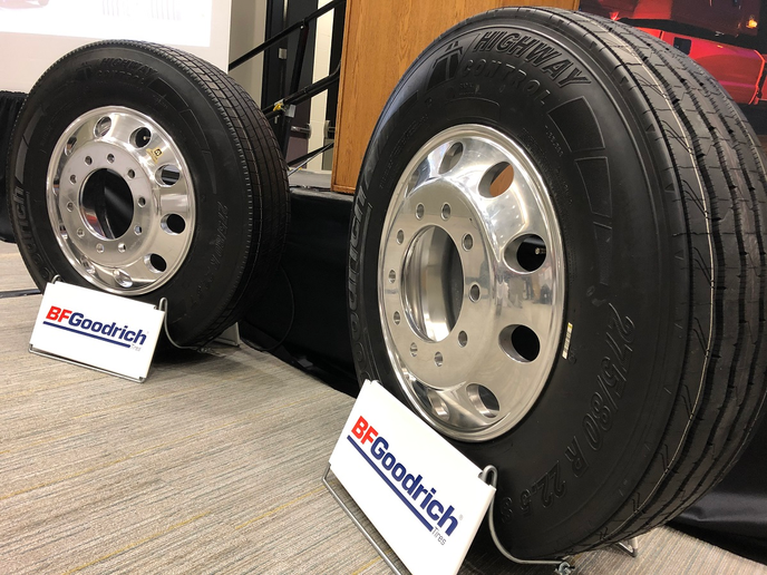 The Highway Control S and Highway Control T are two new tires from BFGoodrich, designed for durability and fuel efficiency.