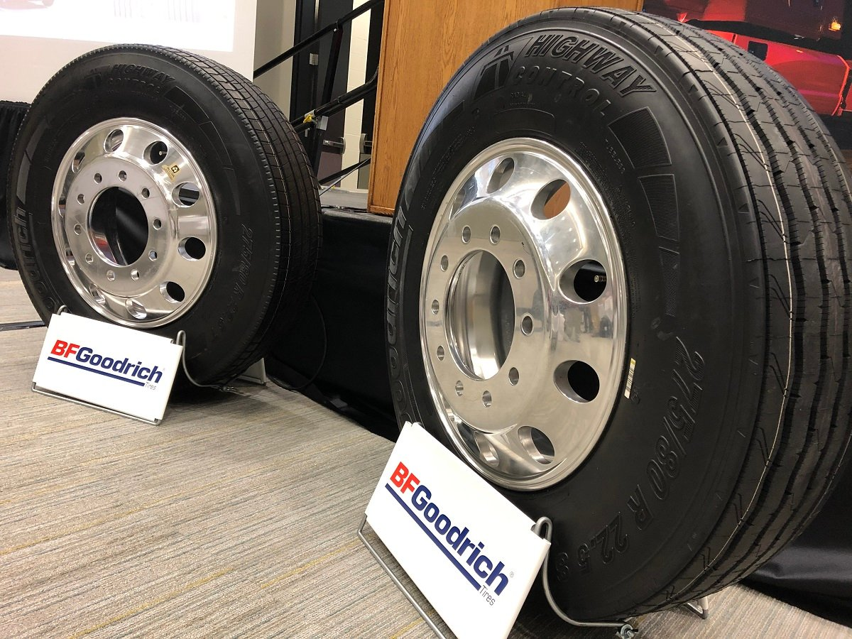 BFGoodrich Launches Two Long-Haul Truck Tires