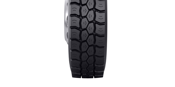 The Bandag BDM3 retread features a non-directional tread pattern that delivers traction in...