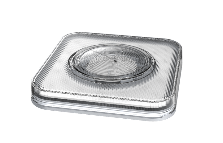 Optronics International's Purilite Light-Shield is an LED-based decontaminating light designed to improve cleanliness and air quality in and around commercial vehicles.