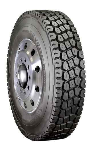 Cooper Adds Mixed Service Drive Tire To Severe Series Equipment