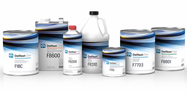 PPG's new Delfeet One paint systemi includes undercoats, topcoats and clearcoats.