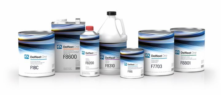 PPG's new Delfeet One paint systemi includesundercoats, topcoats and clearcoats.  - Image: PPG