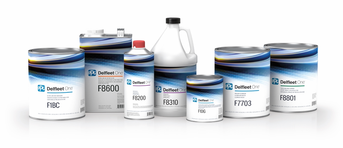 PPG Pours a New Paint System for Trucks