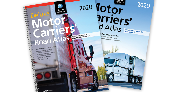 Rand McNally has released the 2020 edition of its Motor Carriers' Road Atlas, available in...