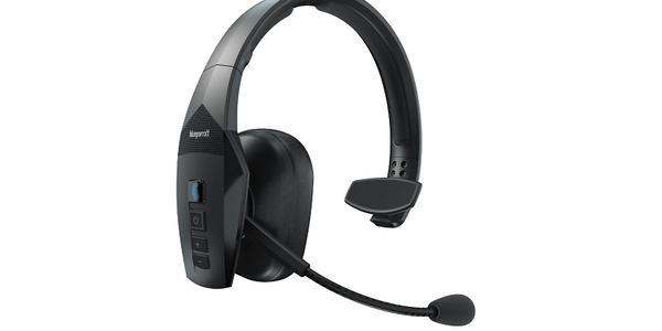 The BlueParrott 550-XT is a wireless headset designed for completely voice-controlled...