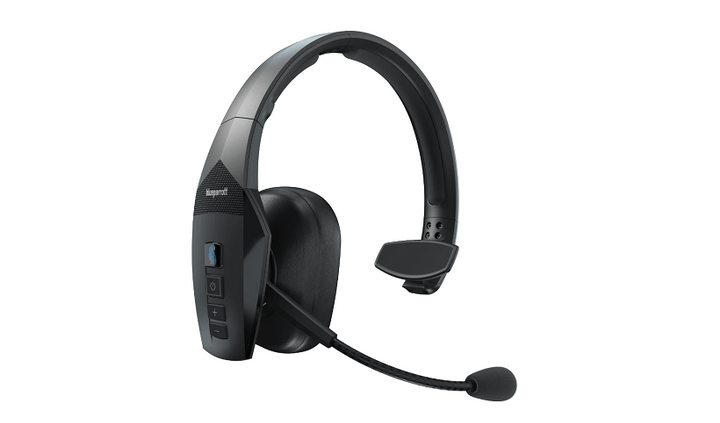 The BlueParrott 550-XT is a wireless headset designed for completelyvoice-controlled functionality.  - Photo courtesy BlueParrott