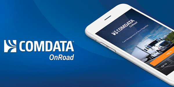 The Comdata OnRoad App is designed to reduce the time it takes drivers to send and receive money.