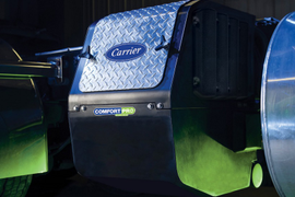 Electric APU Provides Quiet, Emissions-Free Truck Cab Cooling