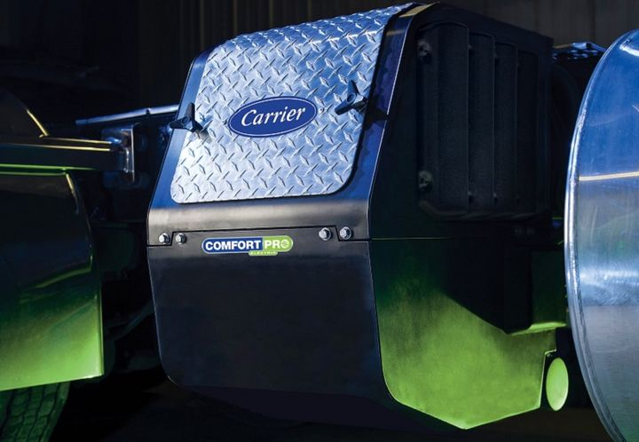 CarrierTransicold is offering the ComfortProelectric auxiliary power unitythat runs off of battery power.  - Photo courtesy Carrier Transicold