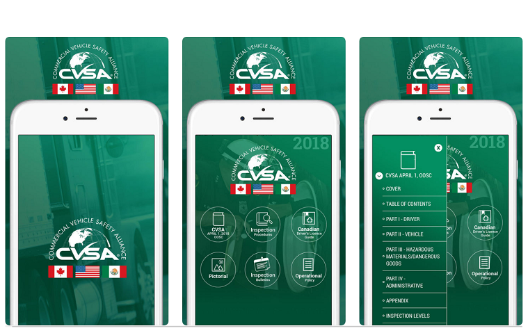 CVSA Releases Out of Service Handbook as an App