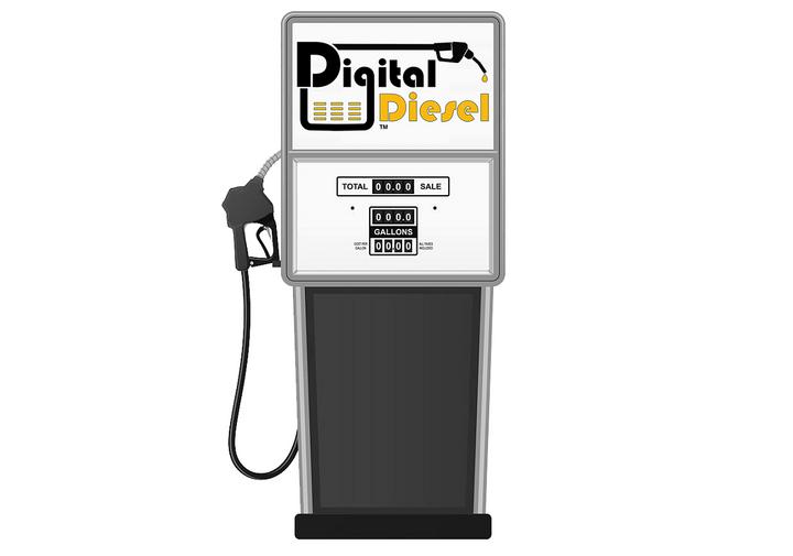 Digital Diesel is a fuel cardthat allows trucking companies to digitally lock-in current diesel prices.  - Image via Digital Diesel