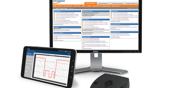SmartAssign, within J.J. Keller's Encompass electronic logging system, helps fleets manage...