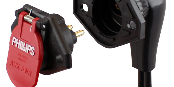 Phillips Industries Dual Pole QCS2 Quick-Change Socket is designed for better corrosion...