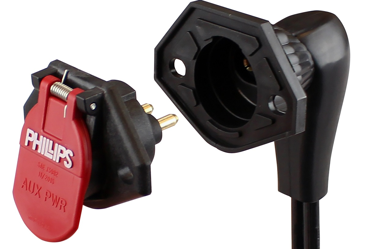 Phillips Industries Dual Pole Socket Features Corrosion Protection