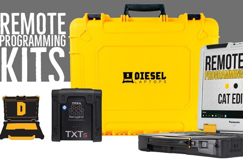 Remote Programming Kits allow a Diesel Laptops techncian to remotely access a vehicle to service...