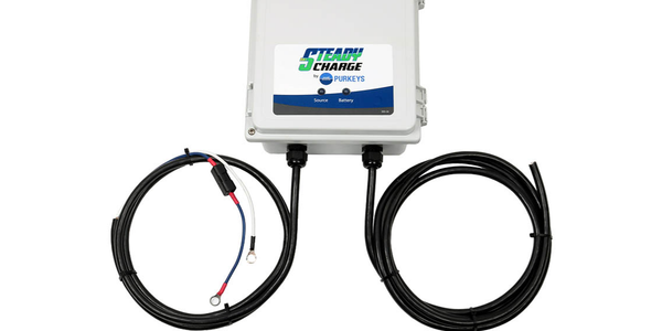 Purkeys SteadyCharge Accessory Battery Charger is designed to monitor and maintain an optimal...
