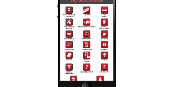 The Trucker Tools app now offers load matching tools for truck drivers and small fleets.