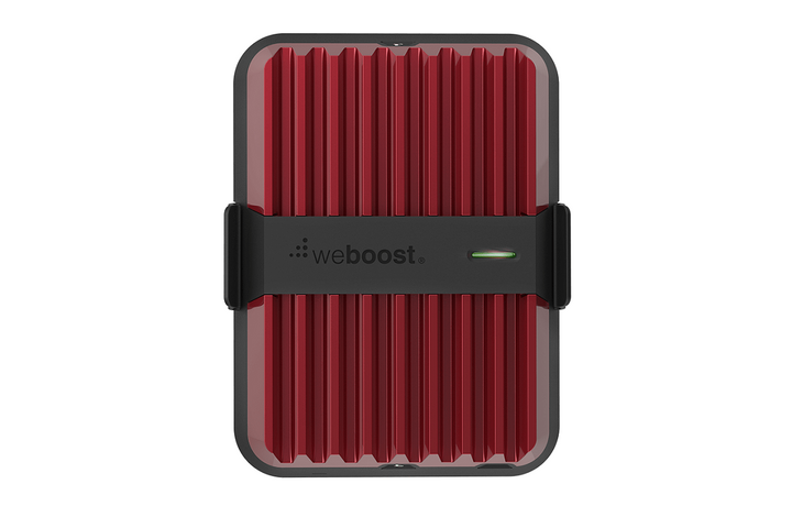 The Drive Reach by weBoost is an in-vehicle cell signal booster kit designed to deliver the strongest cell signal possible on all available network speeds.
