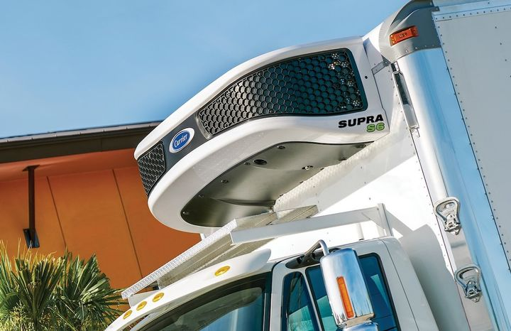 The Supra S6 is the first in a new series of diesel-powered truck units being rolled out by Carrier Transicold.  - Photo courtesyCarrier Transicold