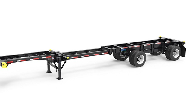 The CIMC Intermodal Equipment Revere premium specification chassis is offered with several high...