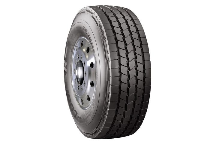 The Cooper Severe Series tire lineup isdesigned for the harsh operating conditions found in construction truck applications.  - Photo courtesy Cooper Tire