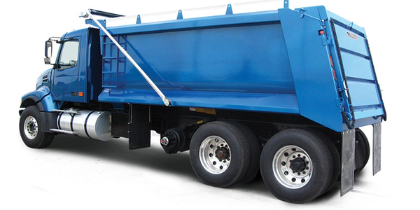 The Crysteel Manufacturing Raptor is a steel truck dump body designed for medium-duty trucks.
