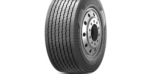 Hankook Tire's e3 WiDE DL21 is the company's latest ultra-super single drive tire.