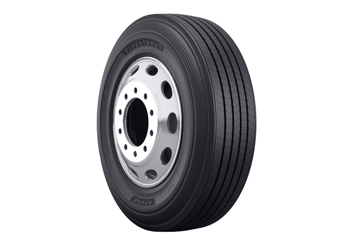 The Firestone FT492 trailer tire offers fleets a fuel-efficient, SmartWay-verified and California Air Resources Board compliant option.