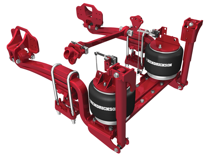 Hendrickson Truck Commercial Vehicle Systems has introduced the RoadMaax line of heavy-duty rear air suspensions, for fire and rescue vehicles.
