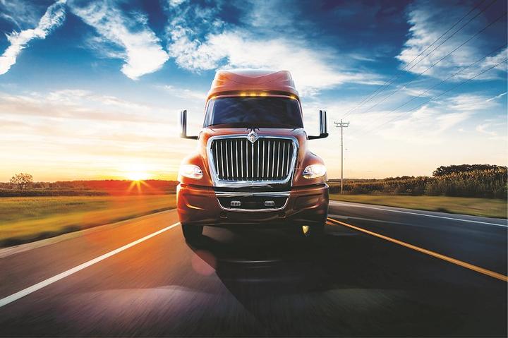 International Trucks has made SiriusXM radios standard equipment for the LoneStar, LT Series, and RH Series on-highway tractors. - Photo via International