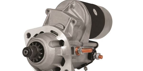 The L545 is an offset gear reduction starter designed for use in 3.9L-5.9L Cummins diesel engines.