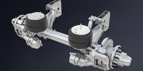 The Meritor MTA-Tec6 trailer suspension is a lightweight option that Meritor says offers up to...