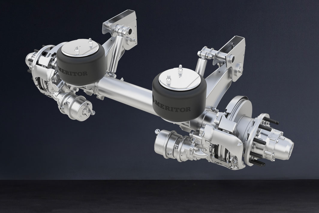 Meritor Offers Lightweight Trailer Suspension