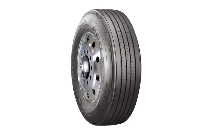 The Pro Series LHTtire, joins Cooper Tire'sPro Series long haul drive and long haul steer tires.  - Photo courtesy Cooper Tire