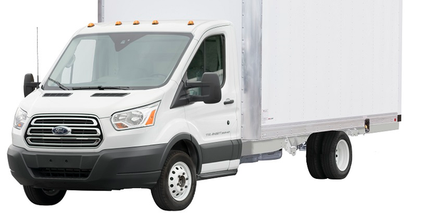 The flat floor option for the 2019 Supreme Iner-City Transit truck body features no wheel boxes...