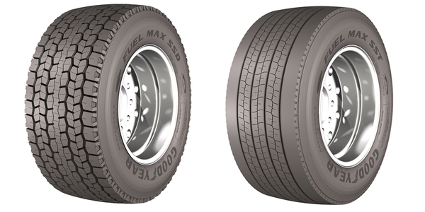 Goodyear's New Wide-Base Tires for Long-Haul Fleets
